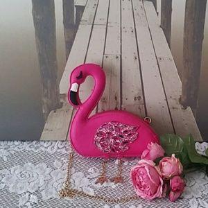 Betsey Jhonson Flamingo Purse